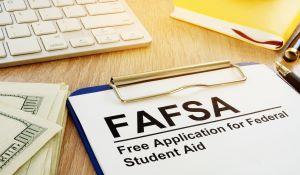 FAFSA on table CS57852350 fb
