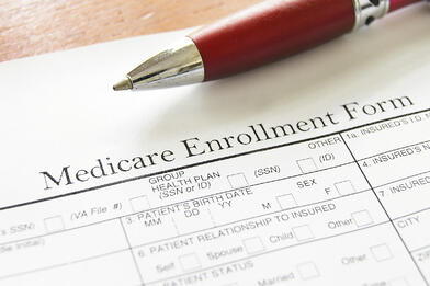 Medicare Enrollment Form cs11240718