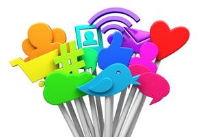 Social Media lollipops